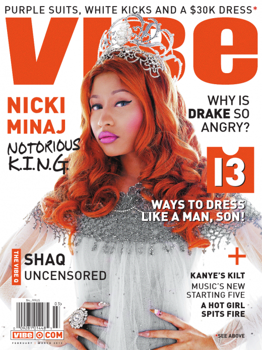 nicki minaj vibe1 Hot Shots:  More From Nicki Minajs Notorious Vibe Spread