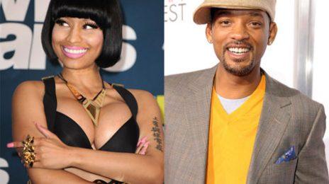 Commercial: Nicki Minaj Joins Will Smith For Kid's Choice Awards