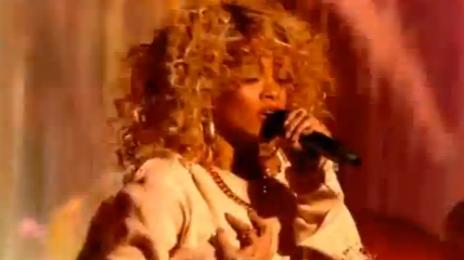 Watch: Rihanna Performs At BRIT Awards 2012