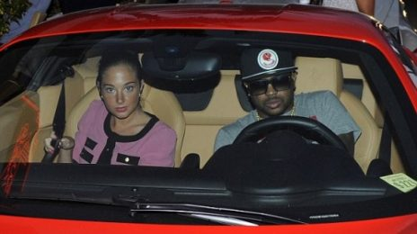 Hot Shot: The-Dream Drives To Studio With...Tulisa