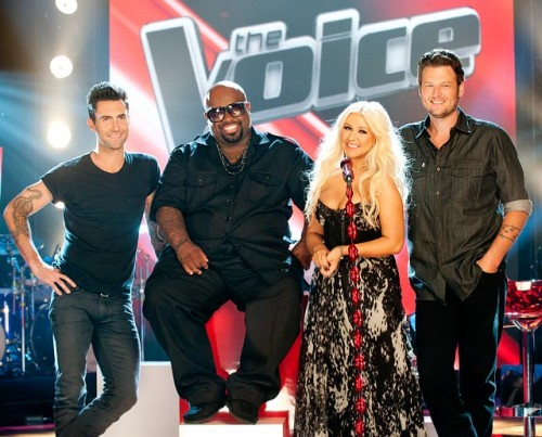the voice 123 e1328638101567 The Voice Hits Ratings High Note Post Super Bowl