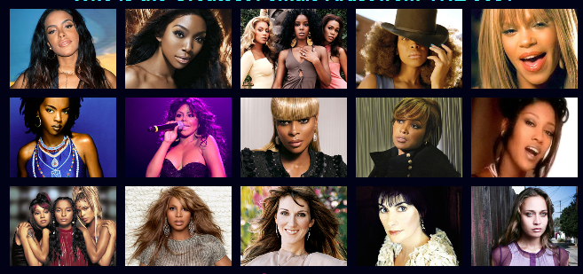 vh1 VH1 Unveils 100 Greatest Women In Music, Plans Weeklong Whitney Houston Tributes