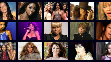 VH1 Unveils '100 Greatest Women In Music', Plans Weeklong Whitney Houston Tributes