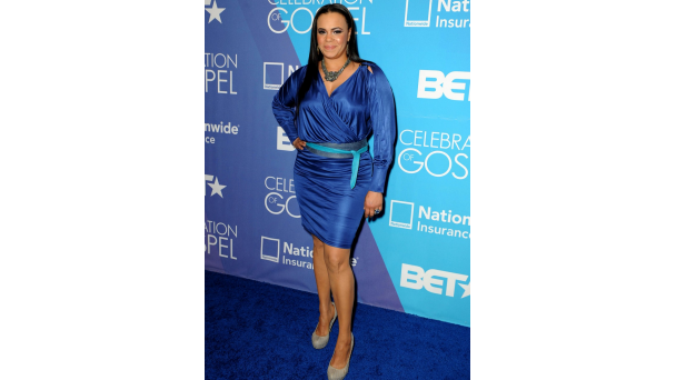 031612 shows celebration of gospel red carpet rundown faith evans Hot Shots:  The Stars Pose & Praise At 2012 BET Celebration of Gospel