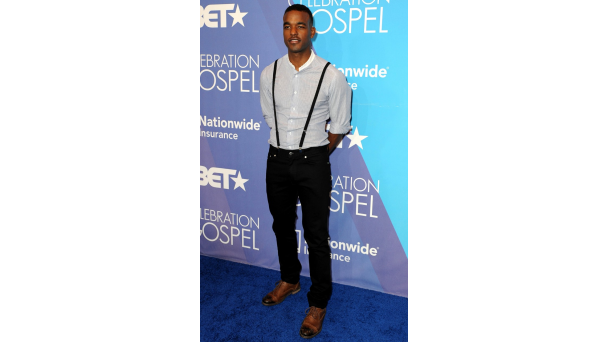 031612 shows celebration of gospel red carpet rundown luke james Hot Shots:  The Stars Pose & Praise At 2012 BET Celebration of Gospel