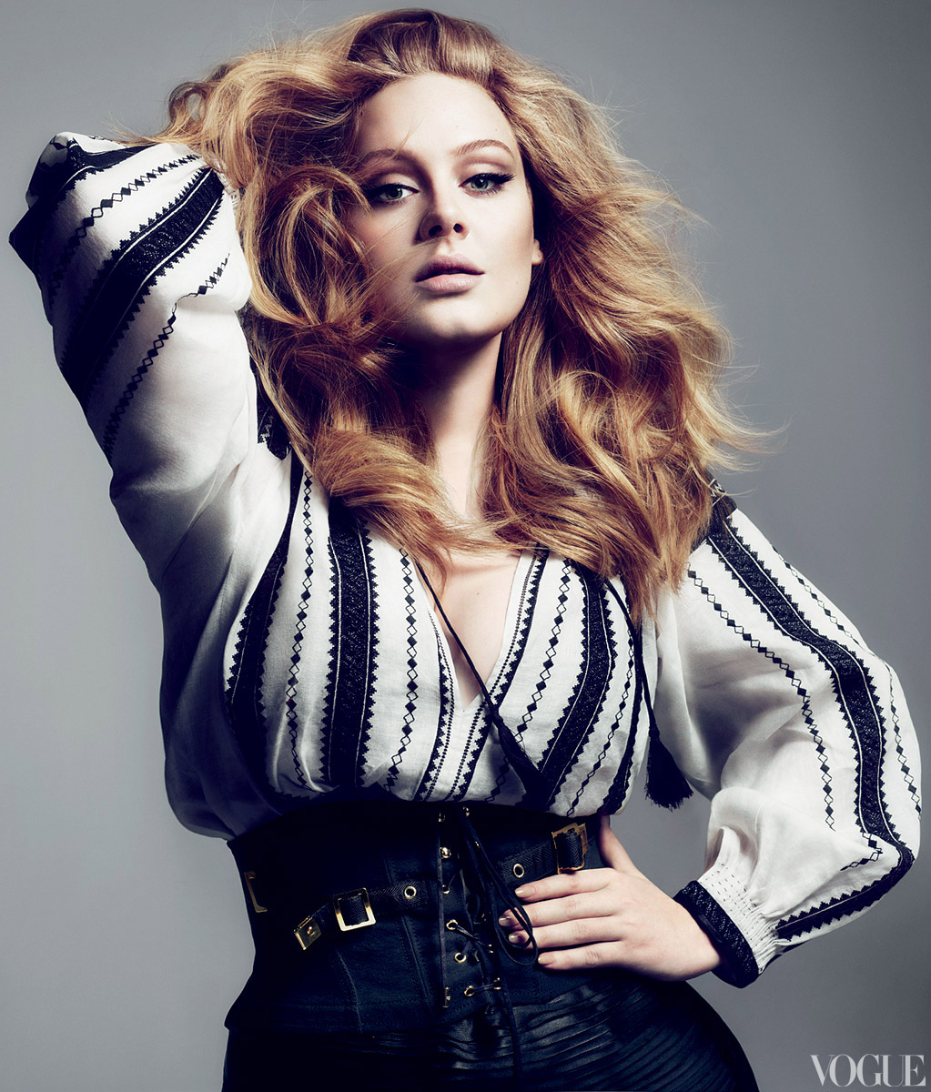 Adele Vogue 4