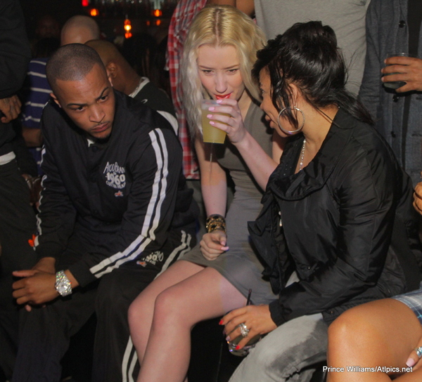 Iggy parties with ti and tiny Hot Shots: Iggy Azalea Parties With T.I & Tiny In ATL