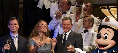 Watch: Mariah Carey Christens Disney 'Fantasy' Cruise Ship
