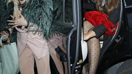 Hot Shots: Rita Ora Parties With Leona Lewis