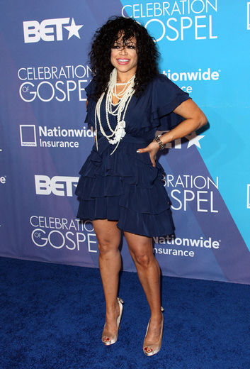 Stacey Francis BET Hot Shots:  The Stars Pose & Praise At 2012 BET Celebration of Gospel