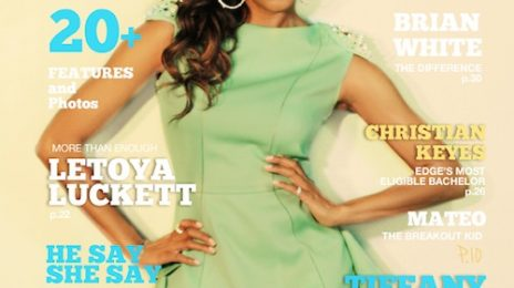 LeToya Luckett Covers 'Edge Magazine'; Reveals Third Album Title