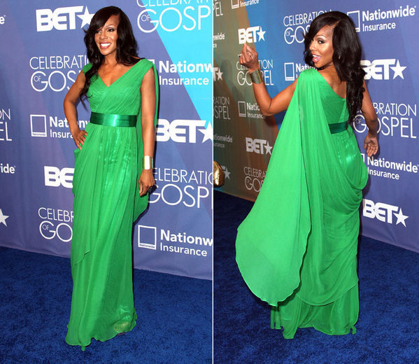Wendy R.Robinson BET Hot Shots:  The Stars Pose & Praise At 2012 BET Celebration of Gospel