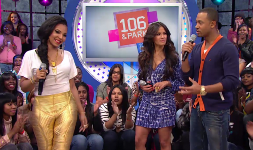 ashanti 106 park e1331738677856 Ashanti Visits 106 & Park; Reveals Duets With R. Kelly & Keyshia Cole