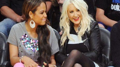 Hot Shots: Christina Aguilera Unwinds With Christina Milian