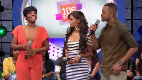 dawn richard 106 e1332943458542 Dawn Richard Visits 106 & Park / Talks Solo Challenges