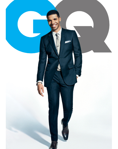drake covers gq Behind the Scenes:  Drakes Dapper GQ Shoot