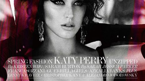 Hot Shots:  Katy Perry Poses It Up For Interview Magazine