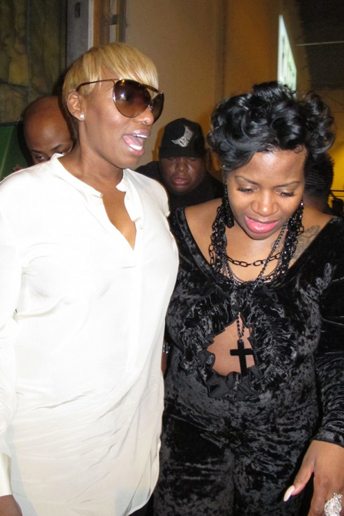 Hot Shots: Fantasia Hits The Club With...NeNe Leakes ...