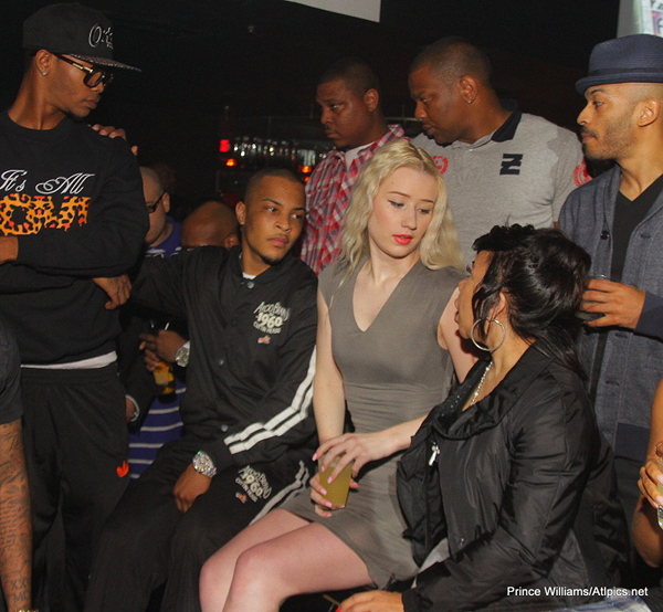 iggy ti and tiny Hot Shots: Iggy Azalea Parties With T.I & Tiny In ATL