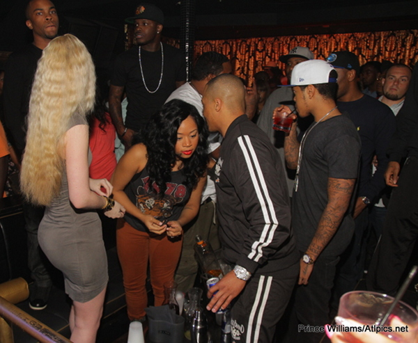 iggy ti shawna chipmunk Hot Shots: Iggy Azalea Parties With T.I & Tiny In ATL