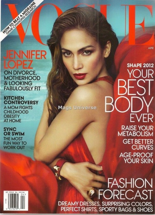 jennifer lopez vogue e1331554258343 Hot Shot: Jennifer Lopez Strikes A Pose For Vogue