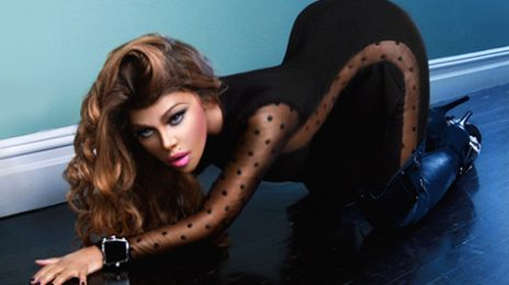 Hot Shot: Lil Kim Gets Feline In New Promo Pic