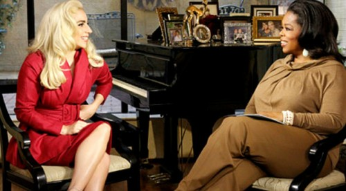 oprah gaga e1332147937400 Watch: Oprah Interviews Lady GaGa (Full) (Updated)