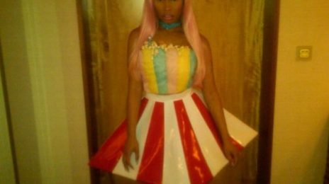 Hot Shots: Nicki Minaj Hits Streets Of Tokyo...Dressed As Popcorn