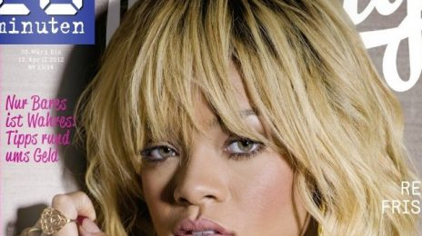 Hot Shot: Rihanna Covers 'Friday Magazine'
