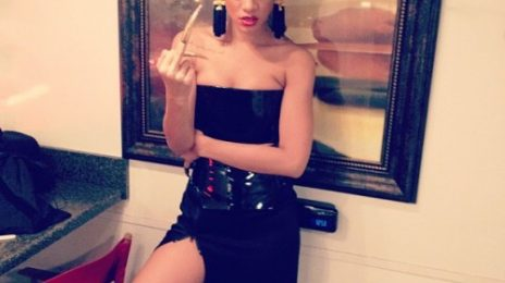 Hot Shots: Rihanna Gets Fierce On Set Of 'Princess of China' Video