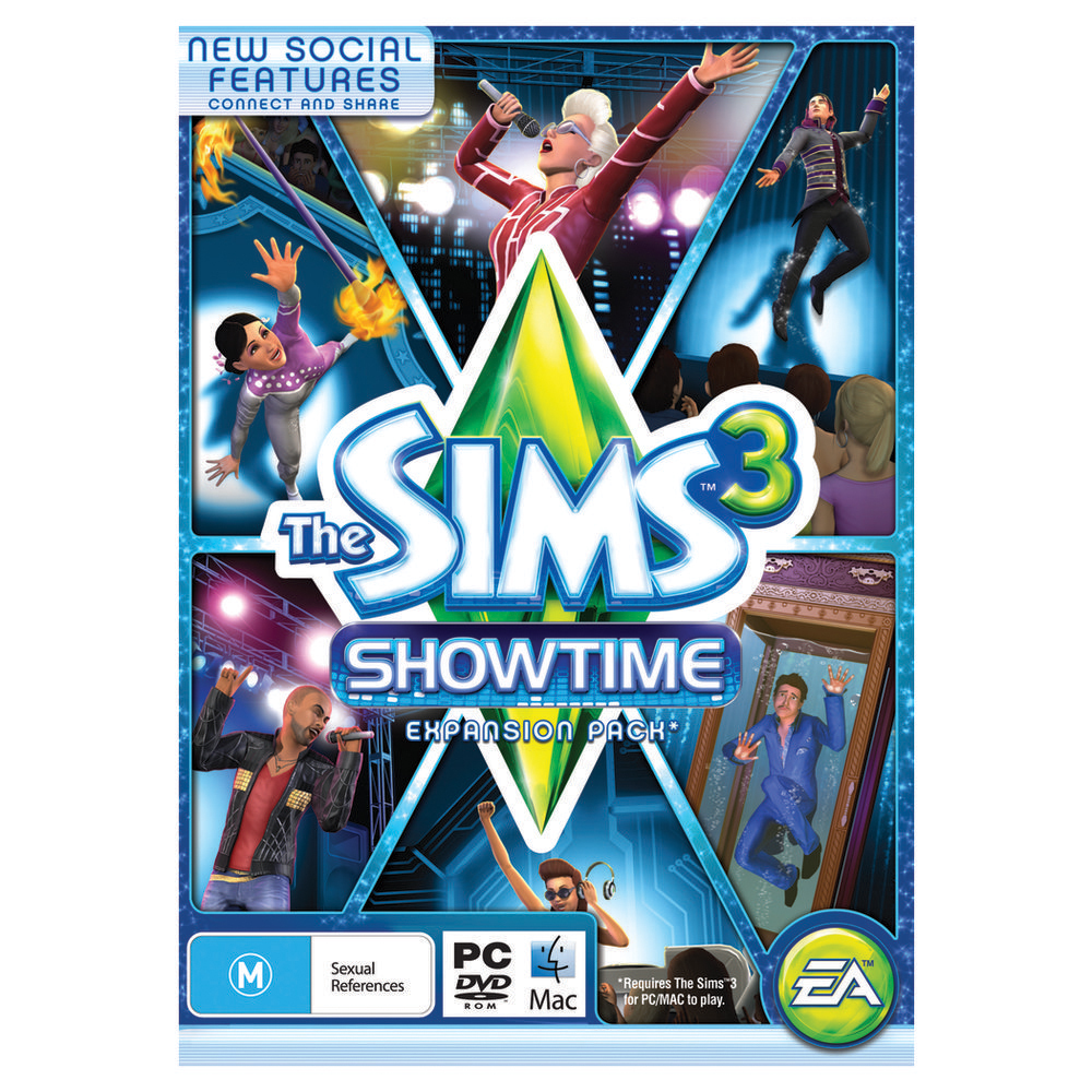 the sims showtime