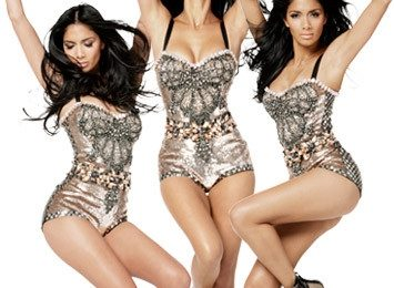 Hot Shots:  Nicole Scherzinger Lets Loose For 'Elle'