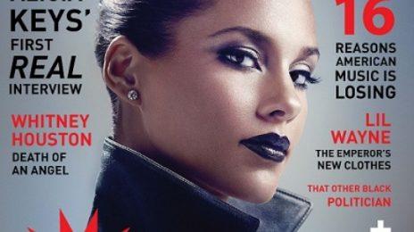 Alicia Keys Cooks Up Steamy Set For 'VIBE' Magazine (Full)