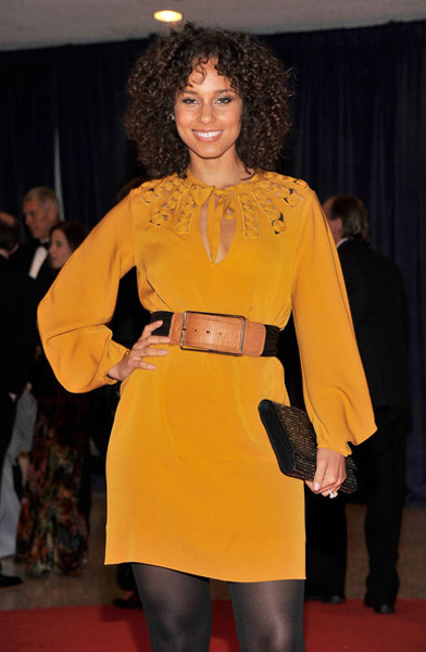 Alicia Keys WHD Hot Shots: Alicia Keys & Mary J. Blige Attend White House Dinner