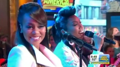 Must See: Brandy & Monica Perform Live On Good Morning America