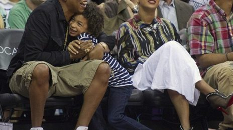 Hot Shots: Beyonce & Jay Z Enjoy Family Time