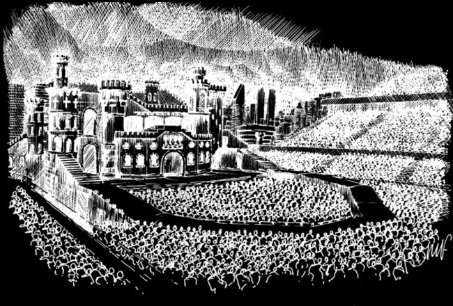 Lady GaGa Born this way ball stage Lady GaGa Sells Out Twickenham Stadium... In Ten Minutes