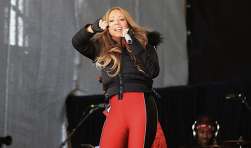 Mariah Carey 043012 11 Watch: Mariah Carey Performs Shake It Off On Twins 1st Birthday