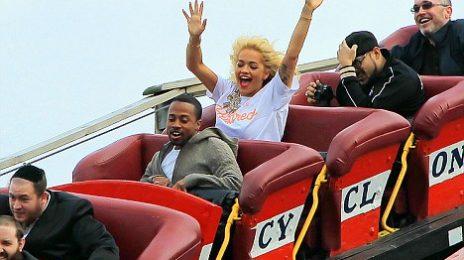 Hot Shots: Rita Ora 'Gets High' In Brooklyn