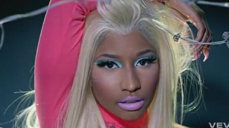 New Video:  Nicki Minaj Ft. 2 Chainz - 'Beez In Da Trap'