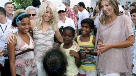 Hot Shot: Shakira Launches Million Dollar School Project