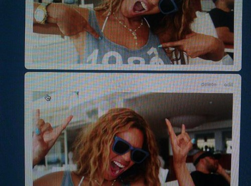beyonce 45th e1333546927597 Beyonce Celebrates 4 Year Wedding Anniversary With Jay Z / Readies New Tumblr