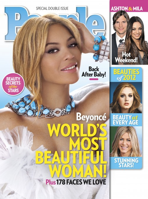 beyonce most beautiful 2012