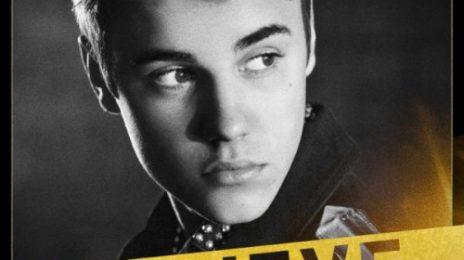 Justin Bieber Unveils 'Believe' Album Cover