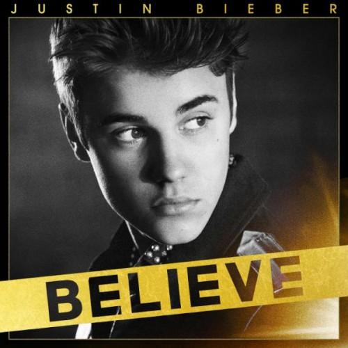 justin bieber believe e1335566419656 Justin Bieber Unveils Believe Album Cover