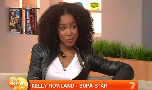 kelly rowland morning show Kelly Rowland Visits The Morning Show / Talks Janet, X Factor, & TW Steel