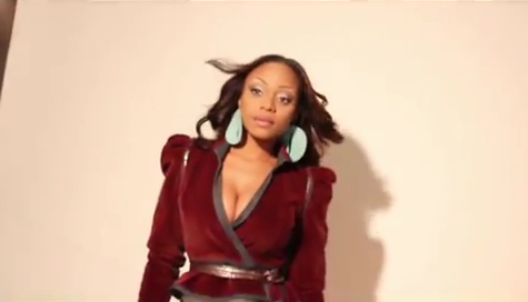 latavia 2012 Behind The Scenes: Destinys Child Star LaTavia Ups Her Diva