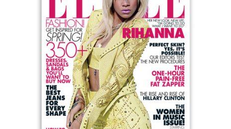 "Rihanna Talks Chris Brown With Elle : ""I've got nothing to hide"""