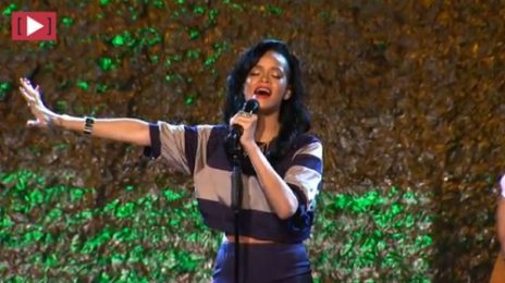 Must See: Rihanna Massacres Bob Marley's 'Redemption Song'