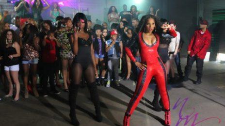 Hot Shots: Trina Braxton Shoots 'Party Or Go Home' Video